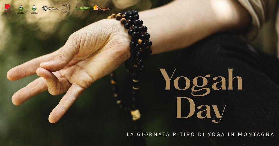 YOGAH DAY   Giornata-Ritiro di Yoga in Montagna • 29/08